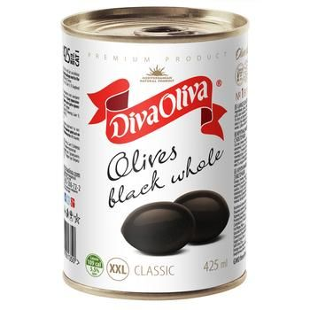 olive Diva oliva black with bone 425ml can