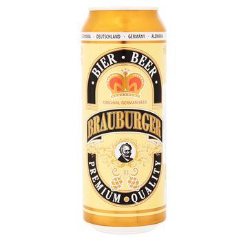 Пиво Brauburger 500мл