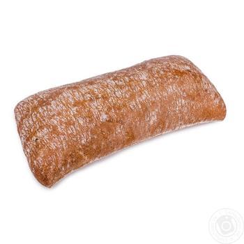 Чиабата темная пшеничная 150г