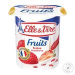 Десерт молочный Elle&Vire клубника 1,5% 125г - купить, цены на Восторг - фото 1