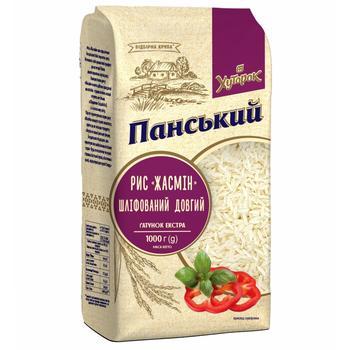 Khutorok Panskiy Jasmine Long Rice 1kg - buy, prices for Furshet - image 2