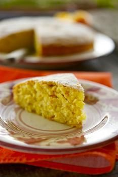 Мандариновый торт (в мультиварке)