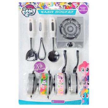 Pero My Little Pony Game Set of Dishes Become a Chef