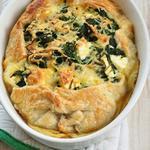 Греческий пирог со шпинатом и фетой