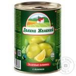 Dolyna Zhelanyy Olives with Lemon 260g