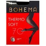 Bohema Thermo Soft 70 Den Black Tights for Women Size 5