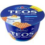 Savushkin Teos Greek Walnut-Honey Yogurt 2% 140g