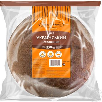 Kyivhlib Ukrainian Stolichny rye-wheat bread 950g - buy, prices for Furshet - image 1
