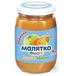 Malyatko for children from 4 months apple-pear puree 180g