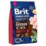 Корм сухой Brit Premium с курицей для собак крупных пород 3кг
