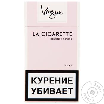 Сигареты Vogue Lilas Ultra Light - купить, цены на Таврия В - фото 1
