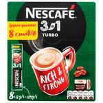 Суміш кавова Nescafe 3в1 Turbo розчинна 8шт 13г