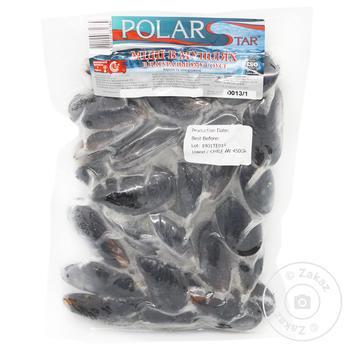 Мідії Polar Star в мушлях в натуральному соусі 450г - купити, ціни на Ашан - фото 1