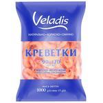 Креветки 90-120 варено-мороженные Veladis 1000г - купить, цены на Novus - фото 1