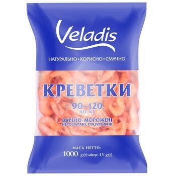 Shrimps 90-120 (W/R) Veladis 1000g - buy, prices for Novus - image 1