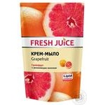 Крем-мыло Fresh Juice Grapefruit дой-пак 460мл