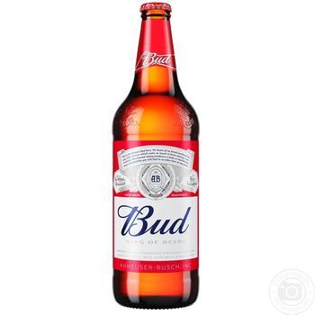 Пиво Bud светлое 5% 0,75л стекло