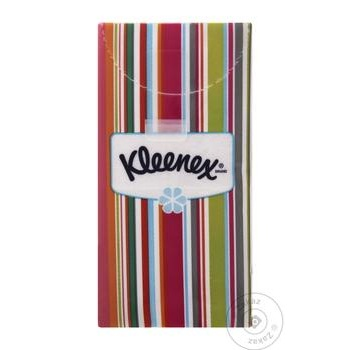 Kleenex Handkerchiefs Paper 10pc - buy, prices for Tavria V - image 1