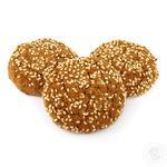 Печенье сдобное овсяное с кунжутом