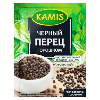 Перец черный Kamis горошек 20г