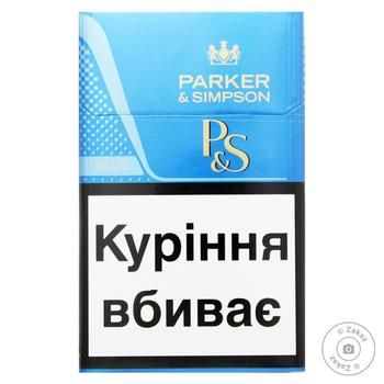 Сигареты Parker&Simpson Blue