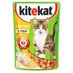 Kitekat Canned Food for Cats Chicken 100g - buy, prices for Furshet - image 1
