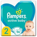 Пiдгузки Pampers New Baby 2 4-8кг 94шт