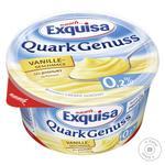 Десерт Exquisa творожный натуральный с ванилью 0,2% 500г