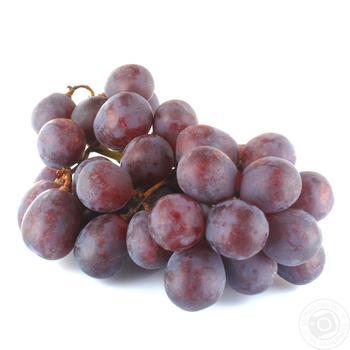 Виноград Ред глоб весовой - купить, цены на Ашан - фото 1