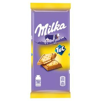 Milka Salty Crackers Chocolate - buy, prices for MegaMarket - image 1