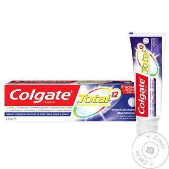 Colgate Professional Whitening Toothpaste 75ml - buy, prices for Furshet - image 3
