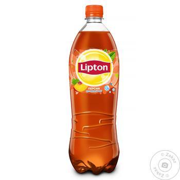 Холодный чай Lipton со вкусом персика 0,5л - купить, цены на Novus - фото 1