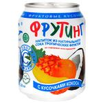 Fruting Multifruit Drink with Coconut Pieces 0,238l