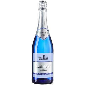 Вино ігристе Latinium Sparkling біле напівсолодке 8,5% 0,75л - купити, ціни на Метро - фото 1