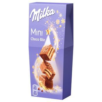 Печенье Milka Mini Choco Bite 117г
