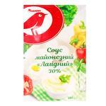 Auchan Lahidniy mayonnaise sauce 30% 180g