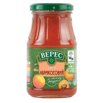 Джем Верес абрикосовий 370г - купити, ціни на Восторг - фото 1