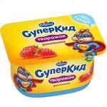 Savushkin SuperKid Strawberry 3.5% Curd Paste for Children 110g