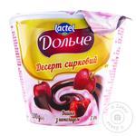 Десерт сирковий Дольче Вишня-Шоколад 3,4% 200г
