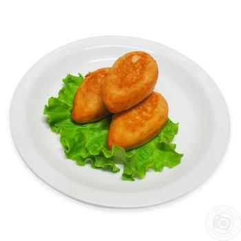 Зразы картофельные с капустой - купить, цены на Фуршет - фото 1