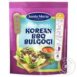 Приправа Santa Maria суміш спецій по-корейски Барбекю Бульгогі 35г