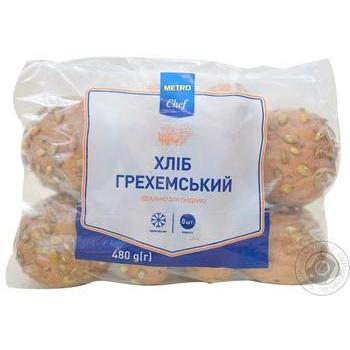 Хліб METRO Chef Грехемський міні заморожений 480г