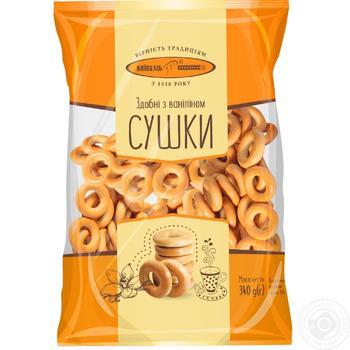 Сушки Киевхлеб сдобные с ванилином 400г Украина - купить, цены на Фуршет - фото 3