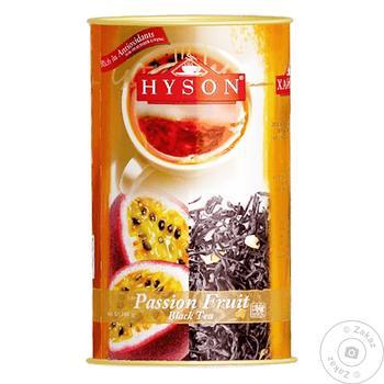 Чай Hyson Passion Fruit черный 100г