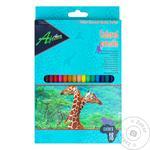 Олівці кольорові EconoMix 18 кольорів