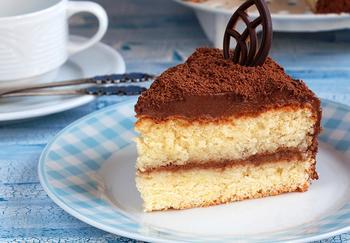 Торт із трюфельним кремом