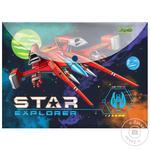 Папка-конверт 1 Вересня Star Explorer А4 на кнопке