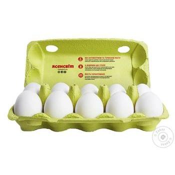 Яйца куриные Ясенсвит Справжни велетни С0 10шт - купить, цены на Ашан - фото 3