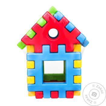 Игрушка Tigres Поєднайко конструктор домик 39195 9 элементов - купить, цены на СитиМаркет - фото 1