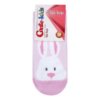 Conte-kids Tip-Top Light Pink Children's Socks 16s